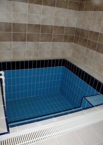 Suit villa termal banyo