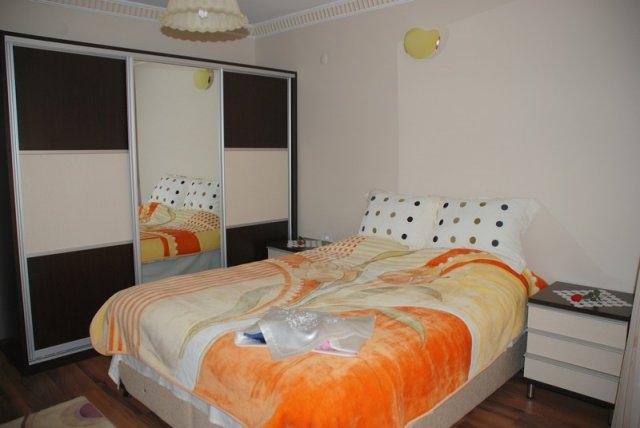Suit villa yatak odası
